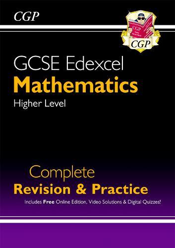 New 2021 GCSE Maths Edexcel Complete Revision & Practice: Higher inc Online Ed, Videos & Quizzes (Paperback)
