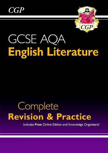 GCSE English Literature AQA Complete Revision & Practice - Grade 9-1 (with Online Edition) (Paperback)