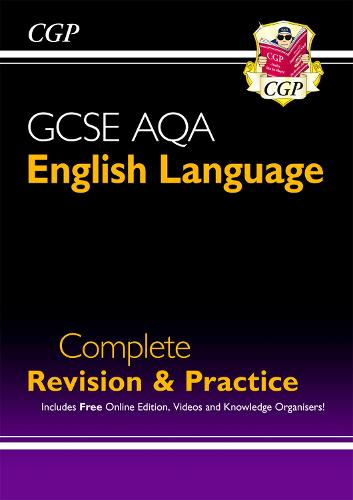 GCSE English Language AQA Complete Revision & Practice - Grade 9-1 Course (with Online Edition) (Paperback)