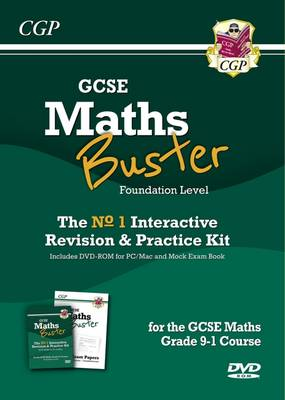 MathsBuster: GCSE Maths Interactive Revision (Grade 9-1 Course) Foundn - DVD&Exam Practice Pack