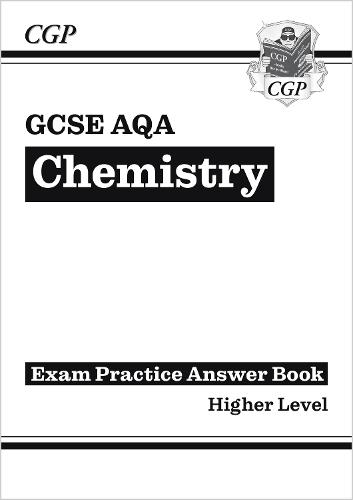 New gcse chemistry aqa answers for exam practice workbook by cgp new gcse chemistry aqa answers for exam practice workbook paperback fandeluxe Choice Image