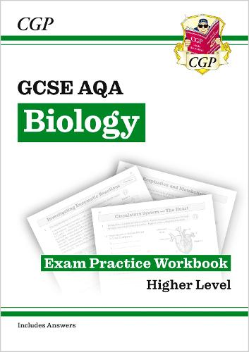 Grade 9-1 GCSE Biology: AQA Exam Practice Workbook (with answers) (Paperback)