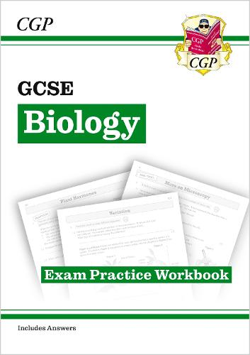 New Grade 9-1 GCSE Biology: Exam Practice Workbook (with Answers) (Paperback)
