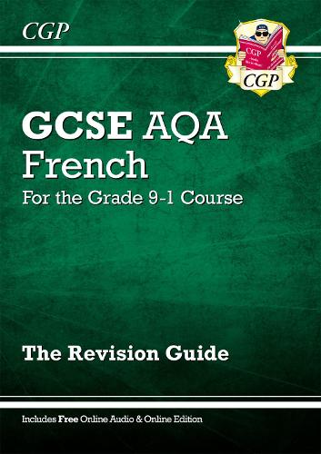 GCSE French AQA Revision Guide - for the Grade 9-1 Course (with Online Edition) (Paperback)