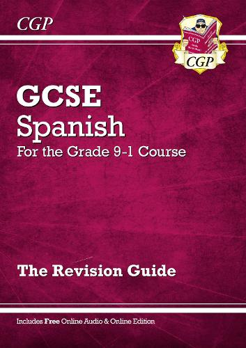 New GCSE Spanish Revision Guide - For the Grade 9-1 Course (with Online Edition) (Paperback)