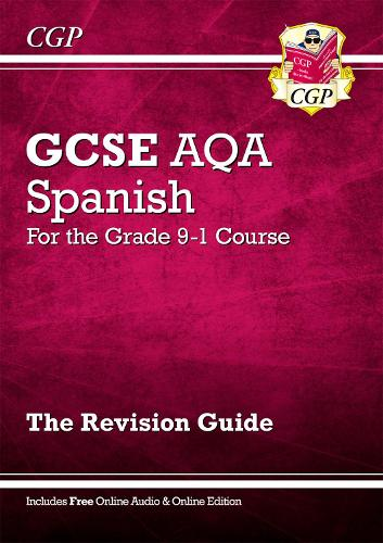 New GCSE Spanish AQA Revision Guide - For the Grade 9-1 Course (with Online Edition) (Paperback)