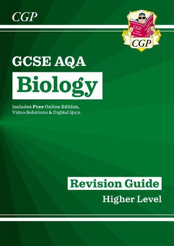 New Grade 9-1 GCSE Biology: AQA Revision Guide with Online Edition (Paperback)