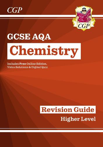 Grade 9-1 GCSE Chemistry: AQA Revision Guide with Online Edition - Higher (Paperback)