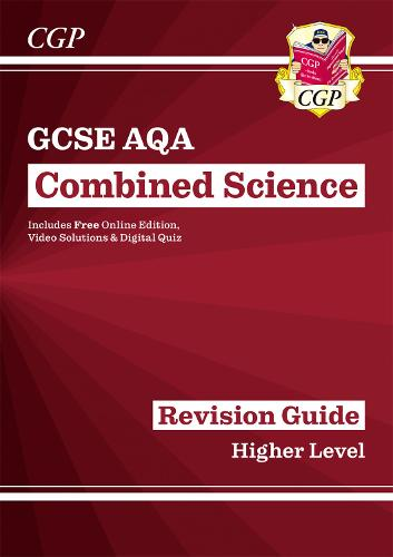 New Grade 9-1 GCSE Combined Science: AQA Revision Guide with Online Edition - Higher (Paperback)