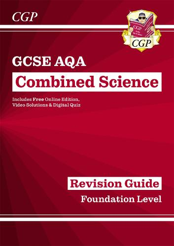 New Grade 9-1 GCSE Combined Science: AQA Revision Guide with Online Edition - Foundation (Paperback)
