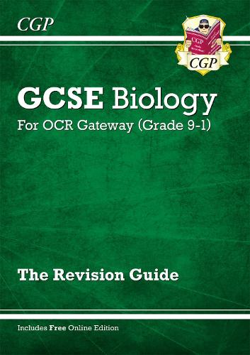 Grade 9-1 GCSE Biology: OCR Gateway Revision Guide with Online Edition (Paperback)