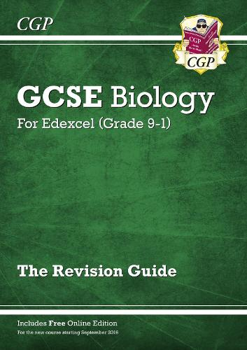 Grade 9-1 GCSE Biology: Edexcel Revision Guide with Online Edition (Paperback)