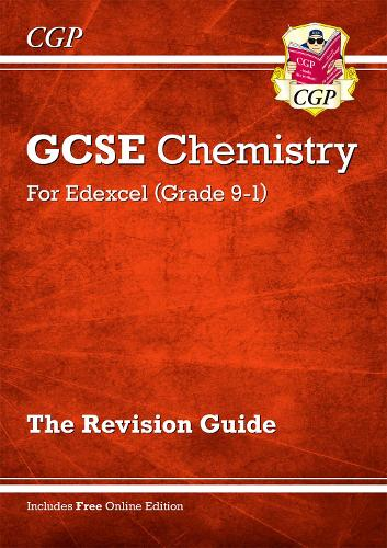 Grade 9-1 GCSE Chemistry: Edexcel Revision Guide with Online Edition (Paperback)