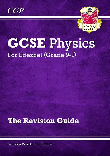 Grade 9-1 GCSE Physics: Edexcel Revision Guide with Online Edition (Paperback)