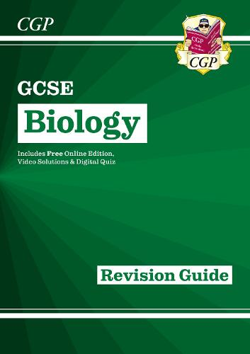 New Grade 9-1 GCSE Biology: Revision Guide with Online Edition (Paperback)
