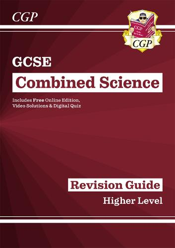 New Grade 9-1 GCSE Combined Science: Revision Guide with Online Edition - Higher (Paperback)
