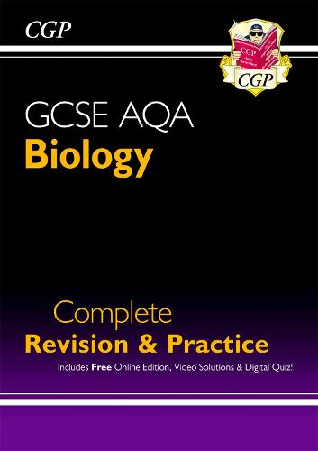 Grade 9-1 GCSE Biology AQA Complete Revision & Practice with Online Edition (Paperback)