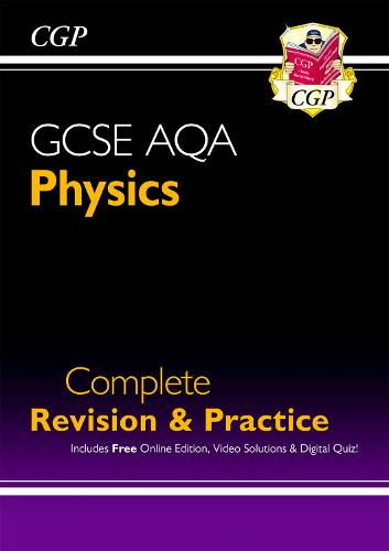 Grade 9-1 GCSE Physics AQA Complete Revision & Practice with Online Edition (Paperback)