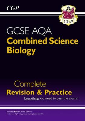 New 9-1 GCSE Combined Science: Biology AQA Higher Complete Revision & Practice with Online Edition (Paperback)