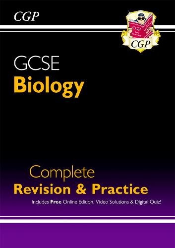 New Grade 9-1 GCSE Biology Complete Revision & Practice with Online Edition (Paperback)