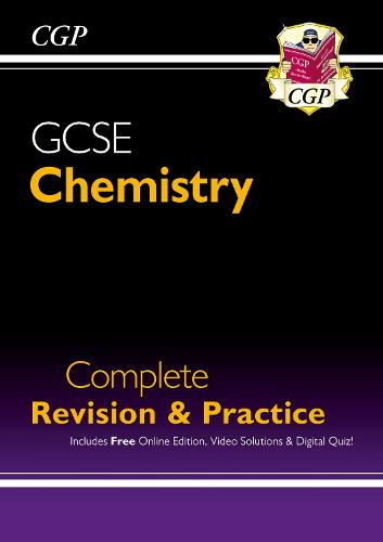 Grade 9-1 GCSE Chemistry Complete Revision & Practice with Online Edition (Paperback)