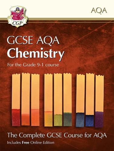 Grade 9-1 GCSE Chemistry for AQA: Student Book with Online Edition (Paperback)