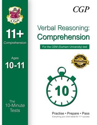 10-Minute Tests for 11+ Comprehension (Ages 10-11) - CEM Test (Paperback)
