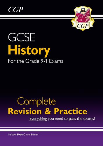 New GCSE History Complete Revision & Practice - For the Grade 9-1 Course (with Online Edition) (Paperback)