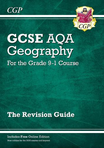 New GCSE 9-1 Geography AQA Revision Guide (with Online Ed) - New Edition for 2020 exams & beyond (Paperback)