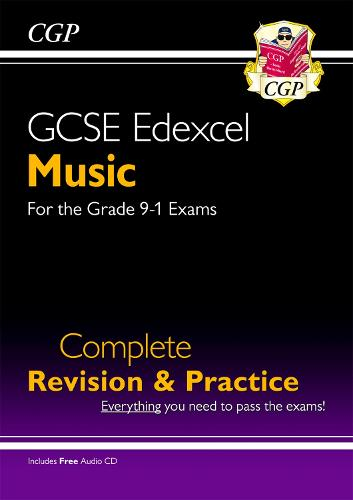 GCSE Music Edexcel Complete Revision & Practice (with Audio CD) - for the Grade 9-1 Course (Paperback)
