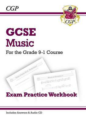 GCSE Music Exam Practice Workbook - for the Grade 9-1 Course (with Audio CD & Answers) (Paperback)