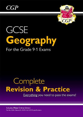 New Grade 9-1 GCSE Geography Complete Revision & Practice (with Online Edition) (Paperback)