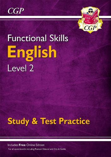 Functional Skills English Level 2 - Study & Test Practice (Paperback)
