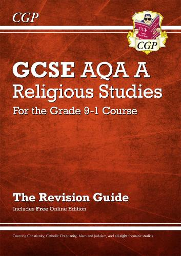 New Grade 9-1 GCSE Religious Studies: AQA A Revision Guide with Online Edition (Paperback)