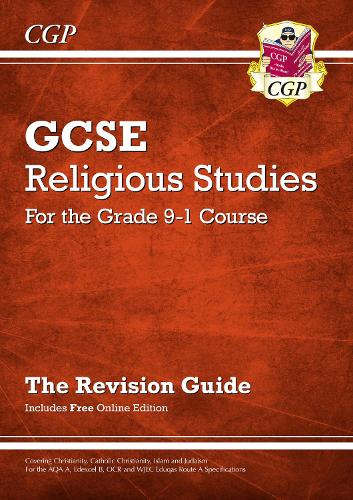 new grade 9 1 gcse religious studies revision guide with online rh waterstones com cgp revision guide online cgp revision guides pdf