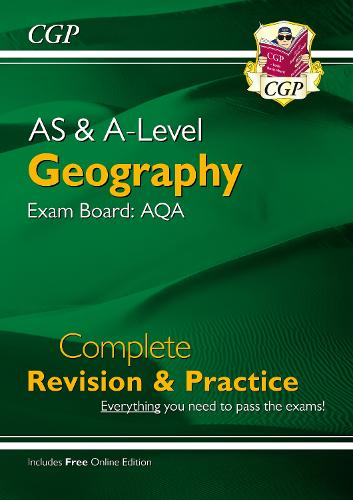 New A-Level Geography: AQA Year 1 & 2 Complete Revision & Practice (Paperback)