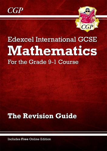 New Edexcel International GCSE Maths Revision Guide - For the Grade 9-1 Course (Paperback)