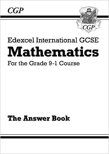 New Edexcel International GCSE Maths Answers for Workbook - For the Grade 9-1 Course (Paperback)