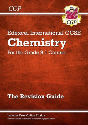 New Grade 9-1 Edexcel International GCSE Chemistry: Revision Guide with Online Edition (Paperback)