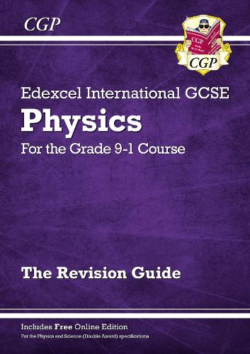 New Grade 9-1 Edexcel International GCSE Physics: Revision Guide with Online Edition (Paperback)