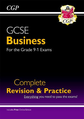 New GCSE Business Complete Revision and Practice - For the Grade 9-1 Course (with Online Edition) (Paperback)