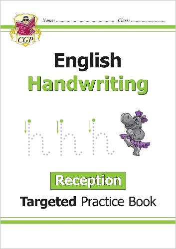 English Targeted Practice Book: Handwriting - Reception (Paperback)