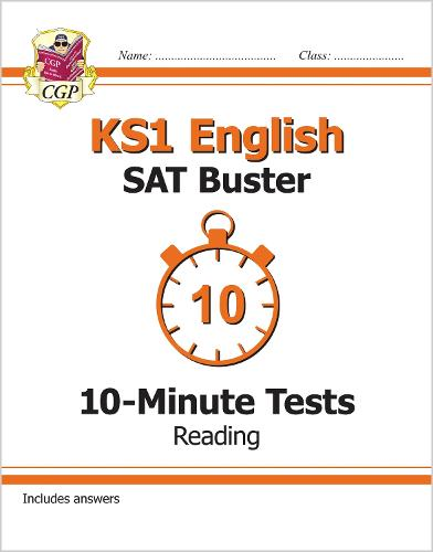 New KS1 English SAT Buster 10-Minute Tests: Reading (for the 2019 tests) (Paperback)
