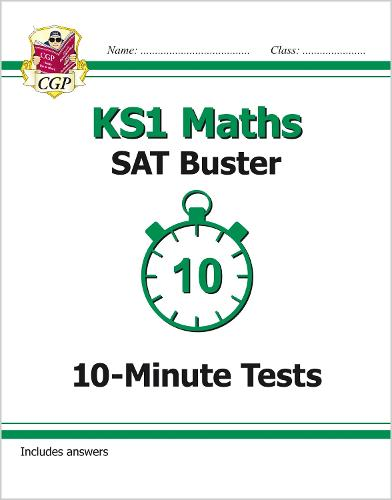New KS1 Maths SAT Buster: 10-Minute Tests (for the 2019 tests) (Paperback)