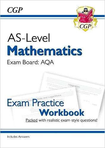 New A-Level Maths for AQA: Year 1 & AS Exam Practice Workbook (Paperback)
