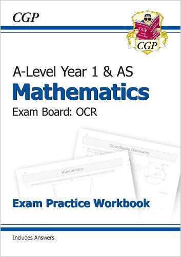 New A-Level Maths for OCR: Year 1 & AS Exam Practice Workbook (Paperback)