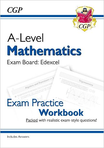 New A-Level Maths for Edexcel: Year 1 & 2 Exam Practice Workbook (Paperback)