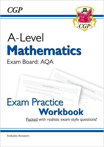 New A-Level Maths for AQA: Year 1 & 2 Exam Practice Workbook (Paperback)