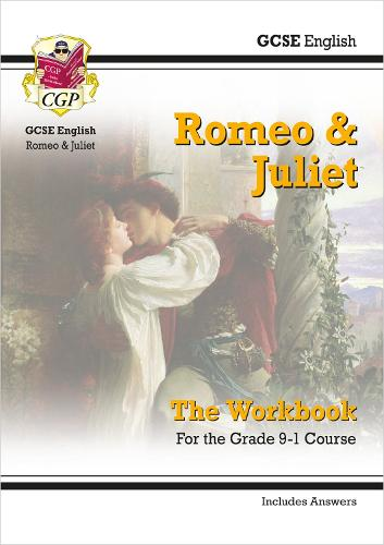 New Grade 9-1 GCSE English Shakespeare - Romeo & Juliet Workbook (includes Answers) (Paperback)