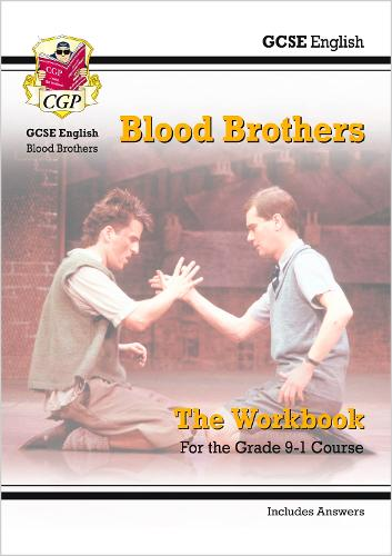 New Grade 9-1 GCSE English - Blood Brothers Workbook (includes Answers) (Paperback)